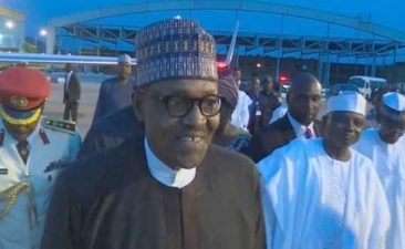 Buhari shocks critics, returns to Abuja earlier than expected, says 'I just went for medical check-up, I am alright'