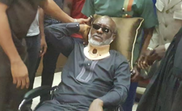 N400m Fraud: Metuh fell down on his own, disrupted my court proceedings, Justice Abang holds