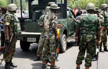 BREAKING: Army uncover container load of arms, ammunition in Ogun