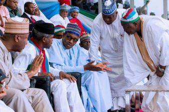 Closing remarks by President Muhammadu Buhari at All Progressives Congress Convention held at Eagle Square, Abuja, June 23/24 June, 2018