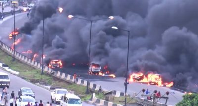 Otedola Bridge Fire: How come Fashola could restrict tankers to move only between 10pm to 6am and Ambode can't, Why?
