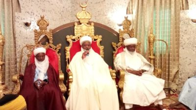 History recaps as Usman Dan Fodio, Abdullahi resurface in Sultan's Palace at Sallah
