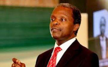 Osinbajo says FG decentralizing power generation, distribution