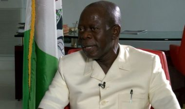 Oshiomhole inaugurates APC Governorship Primaries Committee for September 30 exercise