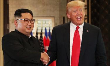 """North Korea's Kim describes Trump as """"energetic and extraordinary"""""""