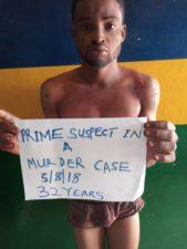 Ogun Police arrests man, 32, for stabbing man, 23, to death