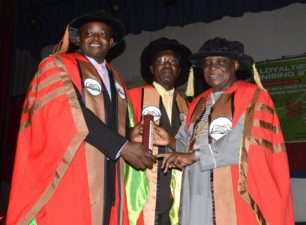 As Professor Charles Olutayo Adesina becomes a recipient of FNAL
