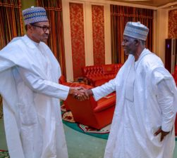 """Have I met you before?"" Buhari to new DG, DSS; ""I am seeing you face-to-face for the first time in life"", Bichi replies President"