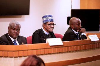 Nigeria's President tasks Africans in Diaspora over continental anti-corruption measure