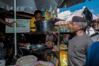 1.1m currently beneficiaries of GEEP as 800,000 enjoying interest-free TradersMoni loans – Osinbajo