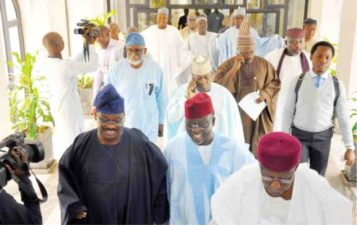 2019: Buhari gets governors' endorsement