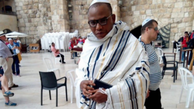 Israeli Government denies presence of Nnamdi Kanu in Jerusalem; but confirmation by PDP, IPOB, Kanu's family punctures denial