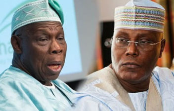 "Atiku: When will Obasanjo withdraw his books in true spirit of forgiveness? Literary figure asks ex-President, as Presidency calls him ""confused"" man"