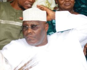 "You are not President of Nigeria, APC reminds, warns Atiku, says Government will show no disdain in applying laws against his ""felonious"" utterances"