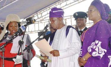 Isiaka Oyetola takes over as new Osun State Governor