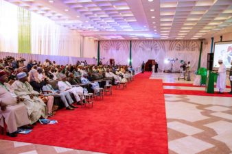 ADDRESS BY HIS EXCELLENCY, PRESIDENT MUHAMMADU BUHARI, AT THE LAUNCH OF THE NATIONAL ACTION PLAN FOR THE REVITALIZATION OF WATER SUPPLY SANITATION AND HYGIENE SECTOR, STATE HOUSE CONFERENCE CENTRE, 8TH NOVEMBER, 2018