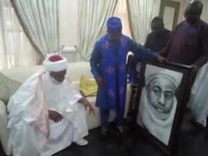 Oyo Visit: Sultan Sa'ad Abubakar receives CAN President Ayokunu in Ibadan