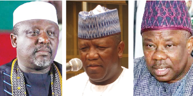 Okorocha, Yari, Amosun lose out as APC submits governorship lists to INEC