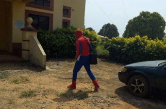 Lecturer disguises as Spider-man to teach during ASUU strike – Report