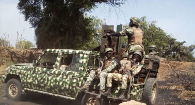 Army restores peace in Gajiram