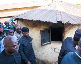 Osinbajo continues community based campaign, promises FCT women 'Next Level' of 'TraderMoni'