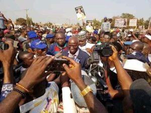 Celebration in David Mark's Idoma Land, as Buhari flags-off construction of Otukpo-Enugu Road