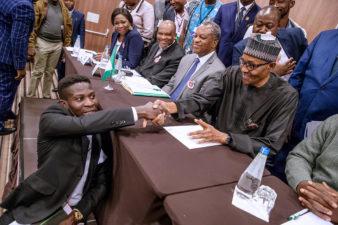 "Buhari finally silences purveyors of 'Jubril As-Sudani' cloning rumour, says ""It's real me"""