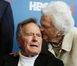 Trump, Obama, world leaders praise George H.W. Bush