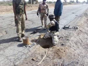 Troops detonate bomb planted by Boko Haram terrorists, as Concerned Citizens Group laud Army