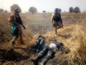 Troops of Operation Lafiya Dole clear Boko Haram hideout in Makinta Meleri