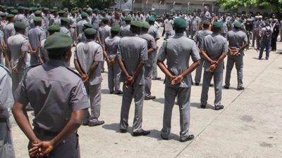 Customs Strike Force seizes goods worth N9b, arrests seven suspects