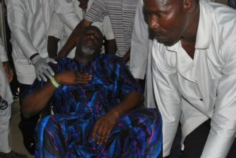 Police confirms Dino Melaye's surrender, says suspect in custody, hospital admission in stable condition