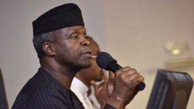 Elections: Osinbajo meets with Muslim Professionals