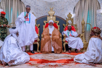 That people love you is sign of your friendship with Allah, NSCIA says as Sultan congratulates President Buhari on election victory