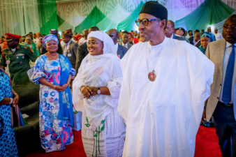 We remain committed to Change until Nigeria is returned on track, President Buhari declares at 'Women and Youth Presidential Campaign Team' inauguration