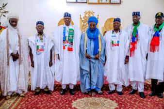 Northern Nigeria's Monarch, who made Atiku Wazirin Adamawa, says Buhari deserves support to move nation to NEXT LEVEL