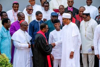 I'll leave Nigeria better than I met it, President Buhari tells visiting CAN leaders