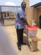 Photo: Buhari's Aide, Femi Adesina votes
