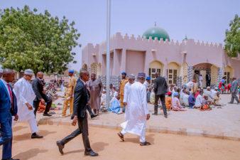 Dumurkul, Buhari village gets New Mosque, as President attends Juma'at Service in Daura