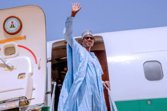 Buhari, accompanied by Governors Abdulrazaq, Zulum, Sanwo-Olu, jets to Japan for TICAD7 conference