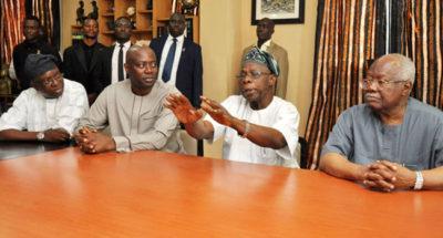 Obasanjo asks Oyo Governor-elect not to loot treasury, as Seyi Makinde visits ex-President in Abeokuta