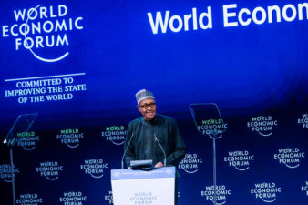 Full text of remarks by President Muhammadu Buhari at the World Economic Forum in Jordan