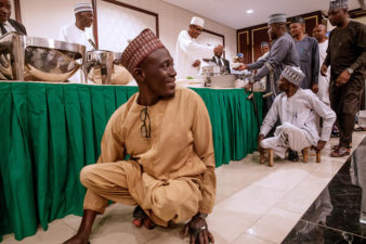 President Buhari hosts Youth, Artists, IDPs and Artisans to Break of Ramadan Fast in State House on Thursday 23rd May 2019