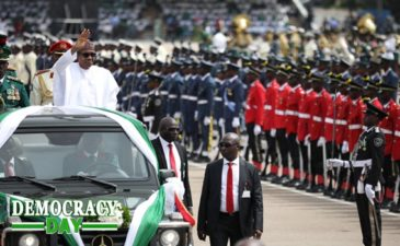 ADDRESS BY H.E PRESIDENT MUHAMMADU BUHARI AT THE 2019 NATIONAL DEMOCRACY DAY AT THE EAGLE SQUARE, ABUJA ON JUNE 12