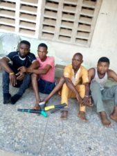 Ogun Police apprehends 4 notorious cultists