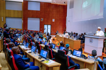 KEYNOTE ADDRESS BY HIS EXCELLENCY, MUHAMMADU BUHARI, PRESIDENT OF THE FEDERAL REPUBLIC OF NIGERIA, AT THE OPENING SESSION OF THE 16TH CONFERENCE OF THE COMMITTEE OF INTELLIGENCE AND SECURITY SERVICES OF AFRICA (CISSA) ON 18TH JULY 2019, ABUJA)