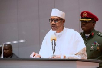 BREAKING: Buhari assigns portfolios, swears-in ministers
