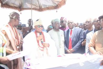 Deji of Akure performs foundation laying ceremony for FUTA Teaching Hospital Complex