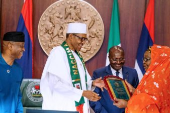 In business, we must pay according to the rules, President Buhari tells NACCIMA delegation
