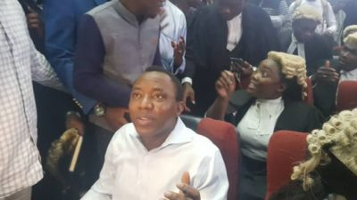 Sowore, co-detainee released by DSS in obedience to court